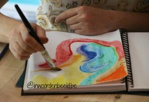 De vier technieken van het creatieve dagboek