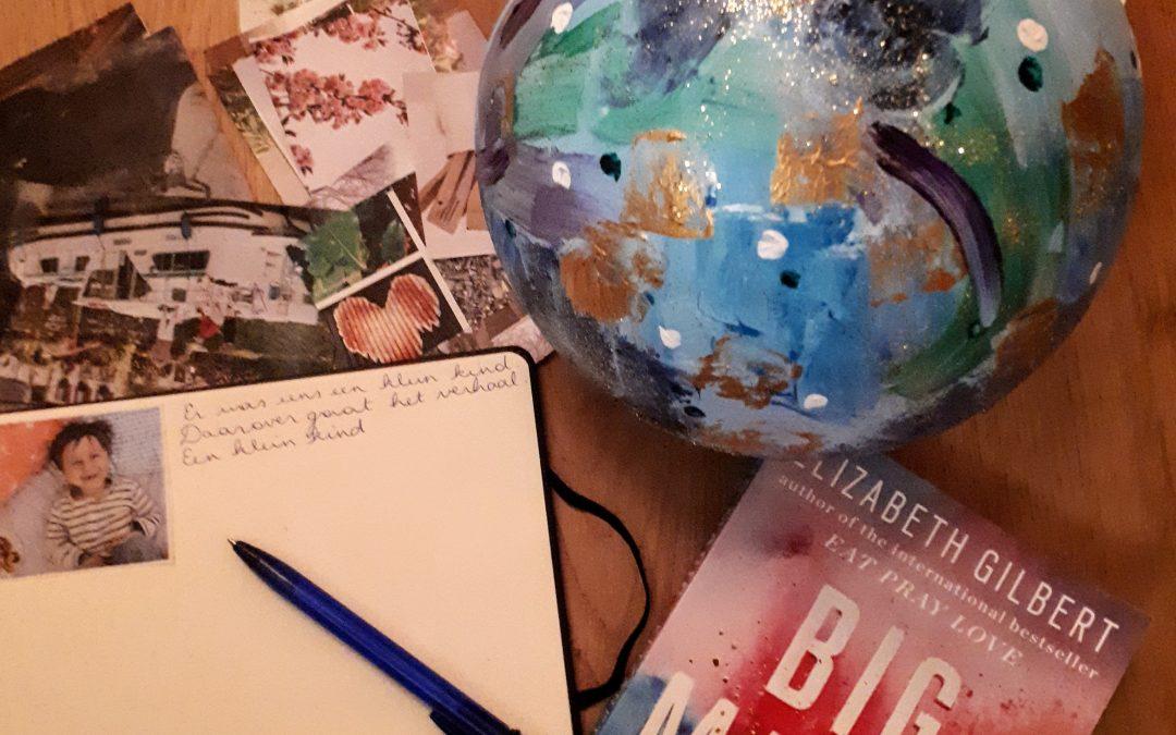 Een zeepbel vol ideeën